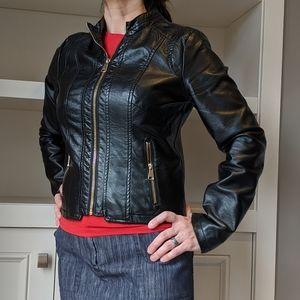 New Look - vegan leather jacket - M